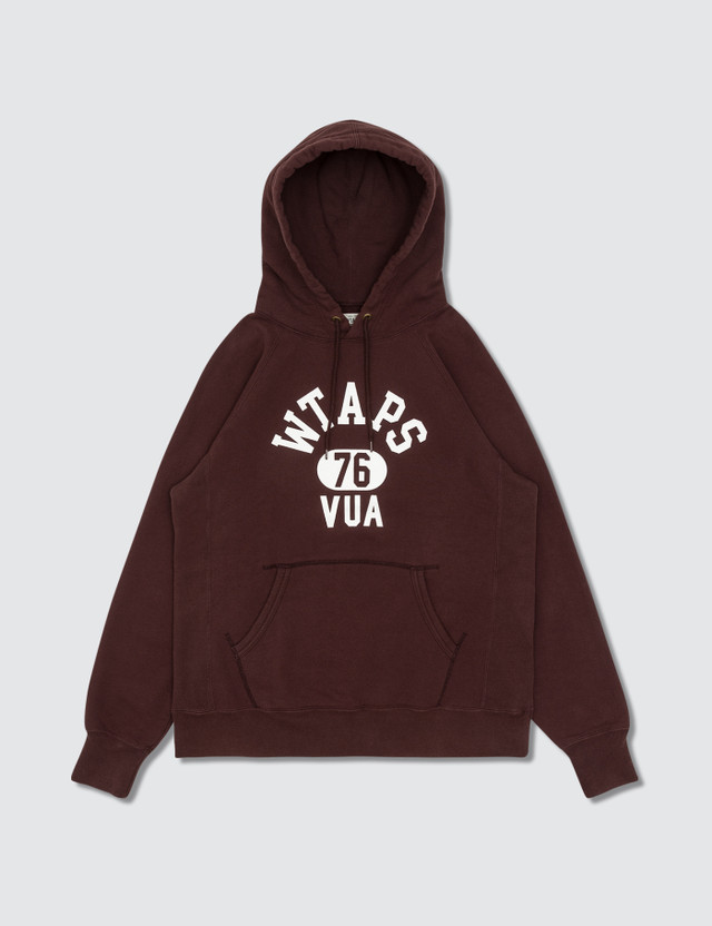 WTAPS Design Hoodie Red Archives