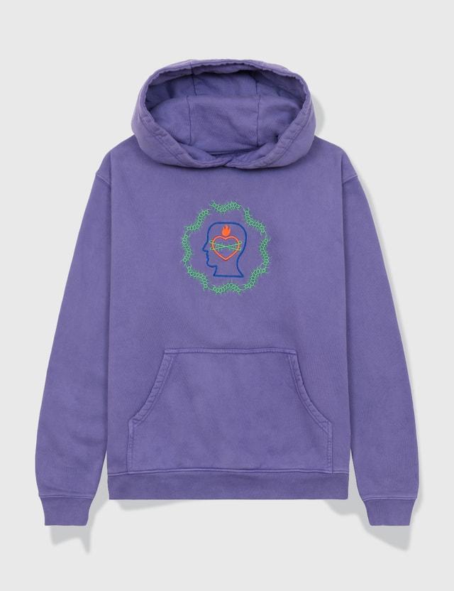 Brain Dead Lovebond Hoodie Lavender Men