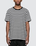 Champion Reverse Weave Stripes S/S T-Shirt Picutre