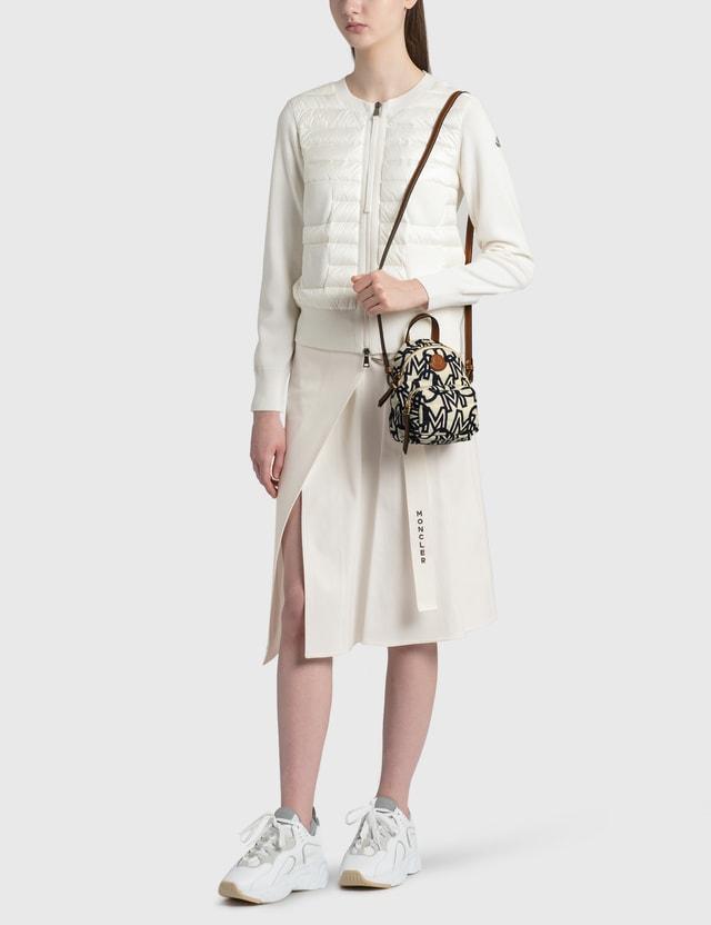 Moncler Tricot Cardigan White Women