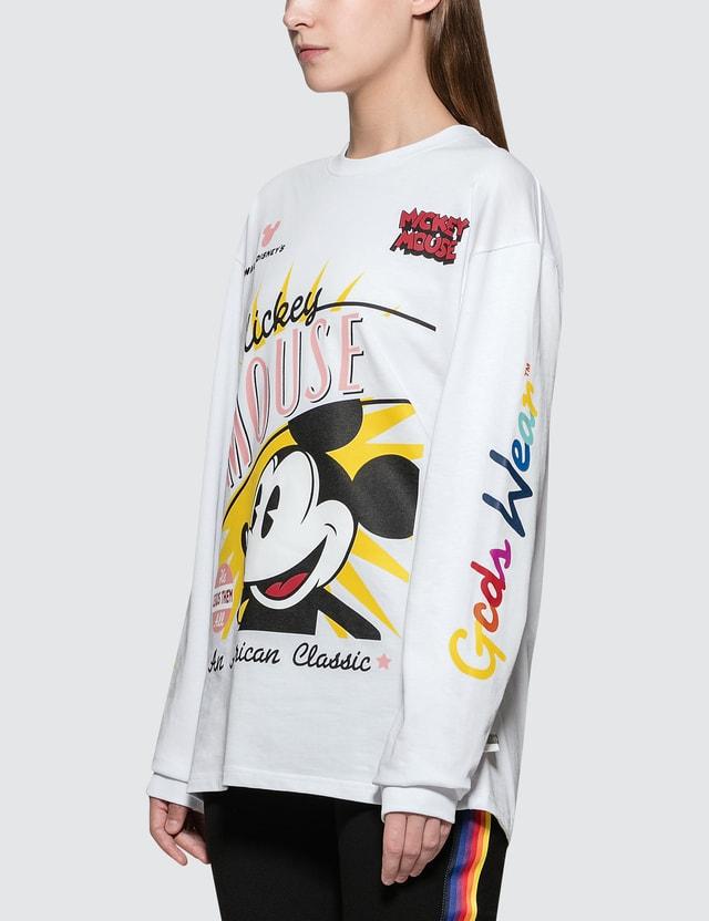 GCDS Mm Nascar Long Sleeve T-shirt