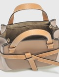 Loewe Mini Gate Top Handle Bag Mink/light Oat Women
