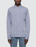Denim By Vanquish & Fragment Coach Shirt Picture