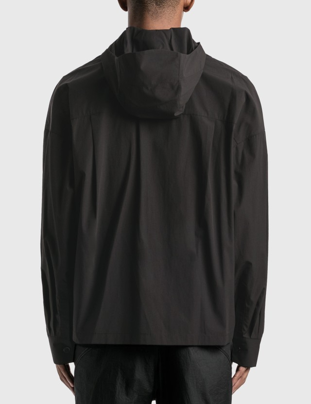 Hyein Seo Hooded Shirt Black Men