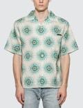Prada Popeline Pois Tie Dye Bowling Shirt Picture