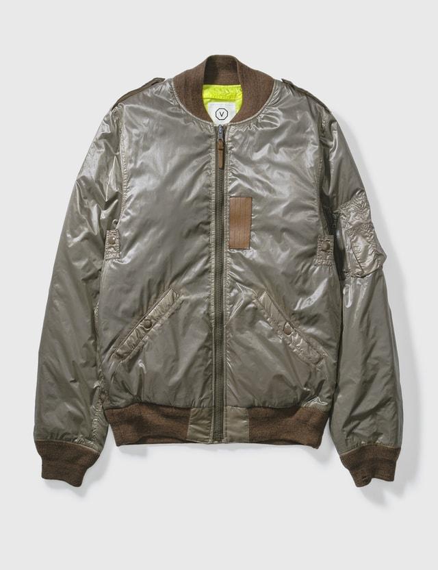 Visvim Visvim Bomber Reversible Jacket L.brown /yellow Archives