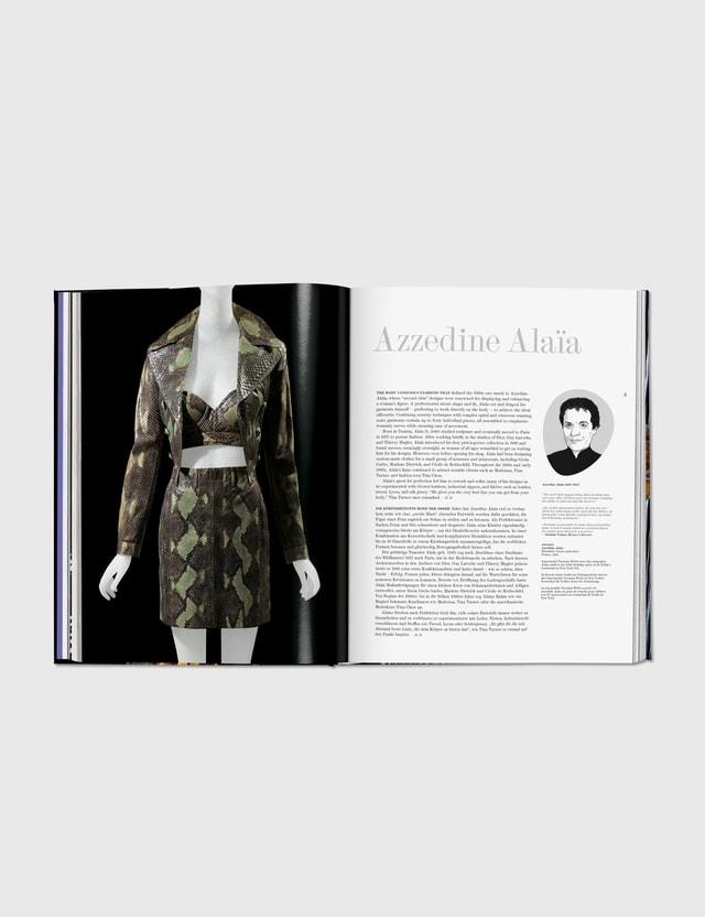 Taschen Fashion Designers A–Z Black Unisex