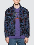 Napapijri x Martine Rose Abstract Allover Print Nylon Jacket Picutre