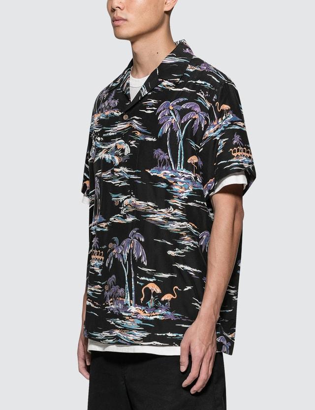 Wacko Maria Island Sea' S/S Hawaiian Shirt
