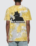 Real Bad Man RBM 로고 Vol.5 티셔츠 Green Tie Dye Men