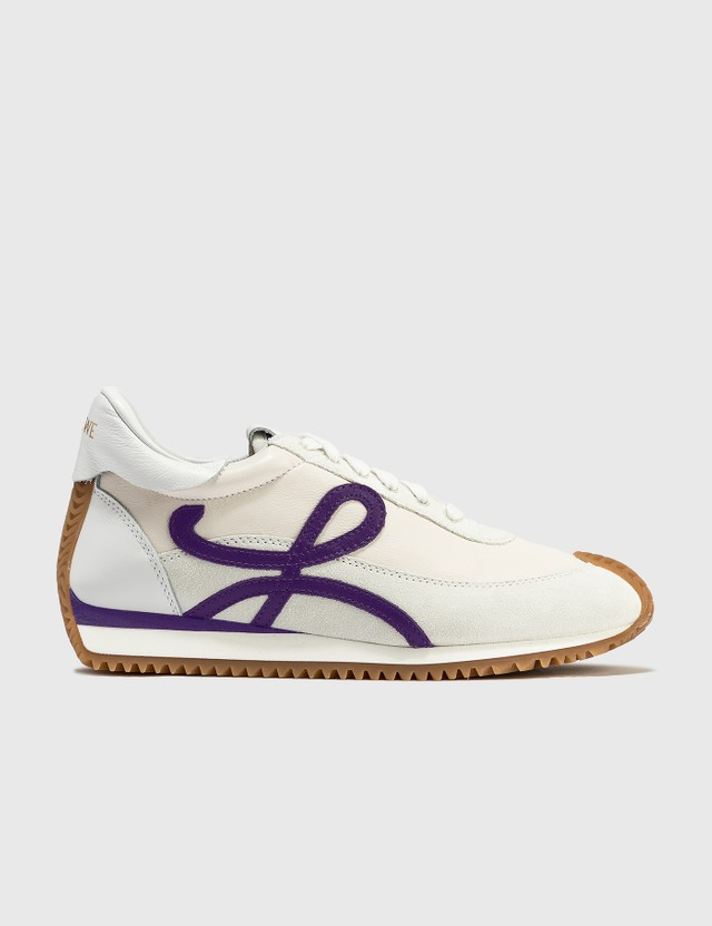 Loewe Flow Runner White/purple Women
