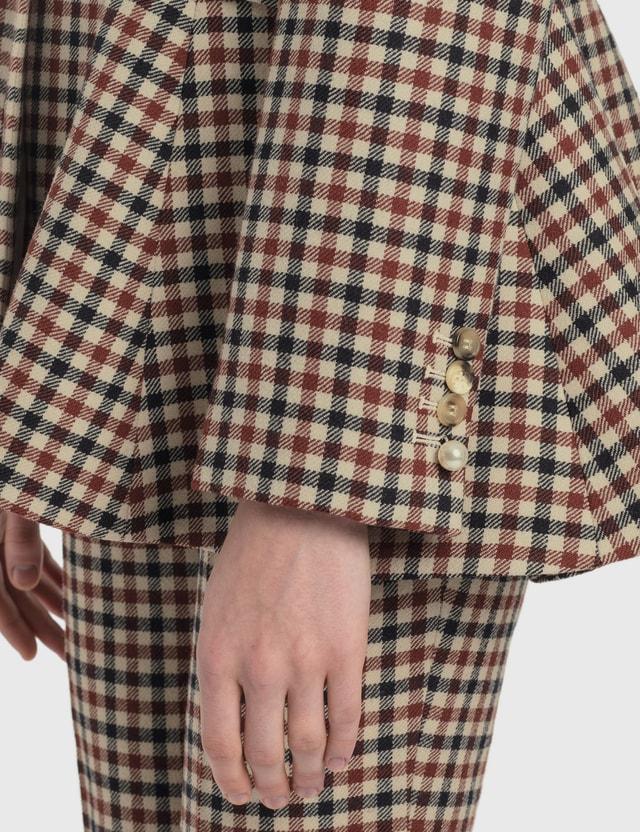 JW Anderson Peplum Back Jacket Auburn Women