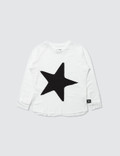 NUNUNU Star Patch L/S T-Shirt Picture