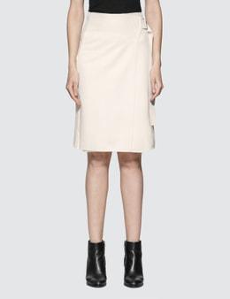 Helmut Lang Compact Wool Skirt