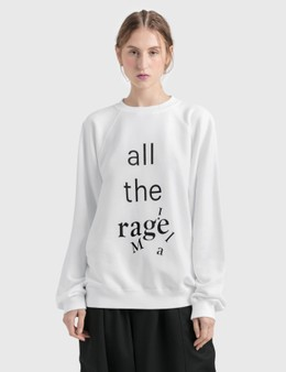 "Maison Margiela ""all the rage"" Sweatshirt"
