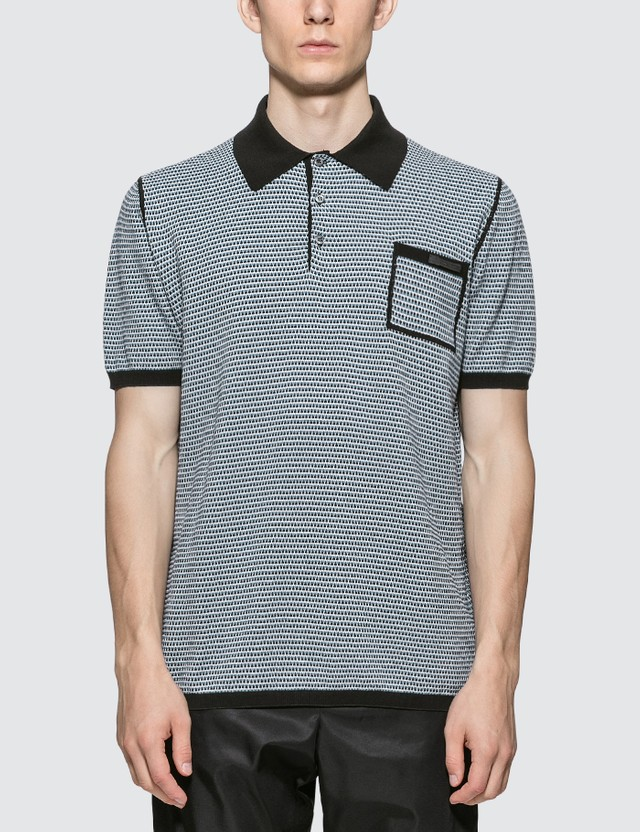 Prada Knitted Polo Shirt