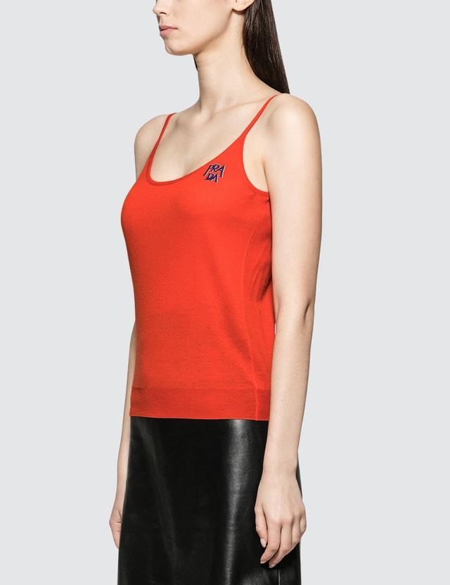Prada Maglieria Tank Orange Women