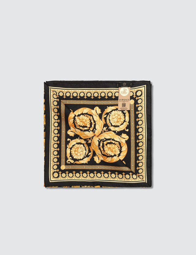 Versace Silk Barocco Scarf