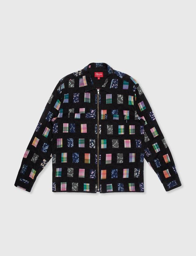 Supreme Supreme Zip Shirt Multicolor Archives