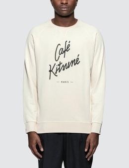 Maison Kitsune Cafe Kitsune Sweatshirt