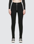 Danielle Guizio Maud Trousers Zipped Picture