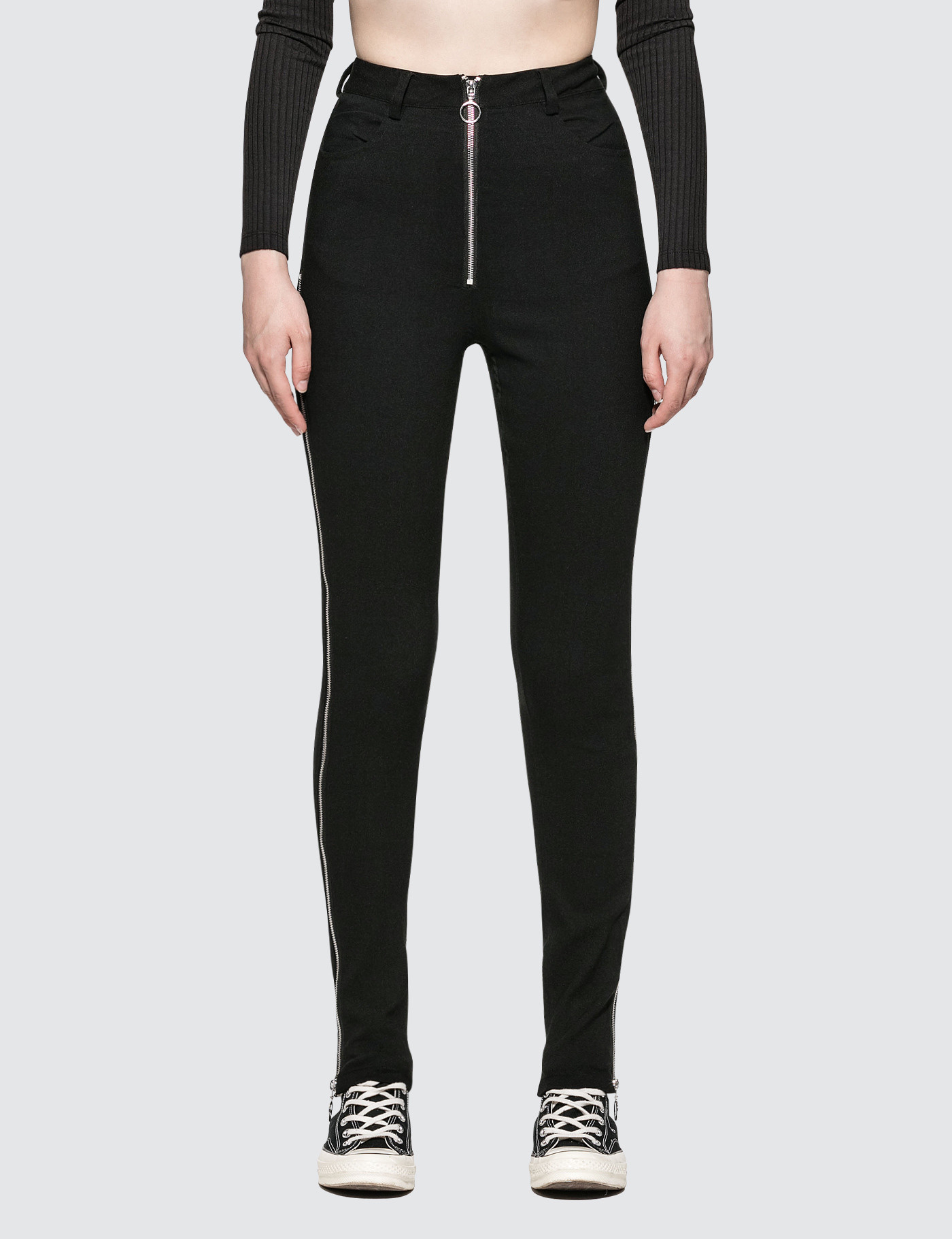 Danielle Guizio Maud Trousers Zipped