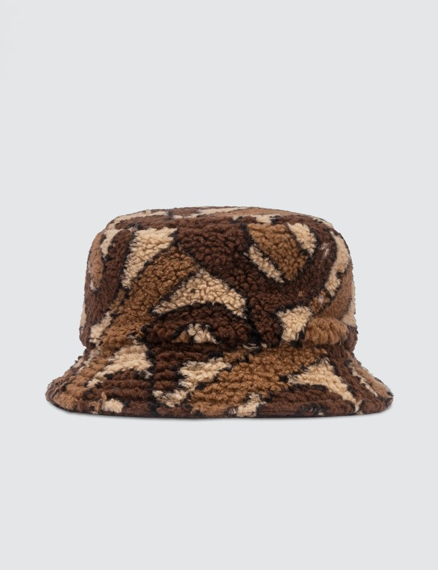 Burberry Fleece TB Bucket Hat