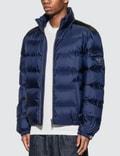 Prada Down Jacket Blue Men