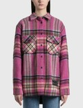 We11done Check Wool Shirt 사진