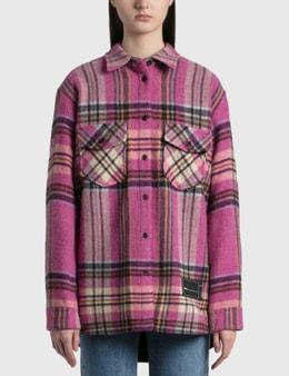 We11done Check Wool Shirt