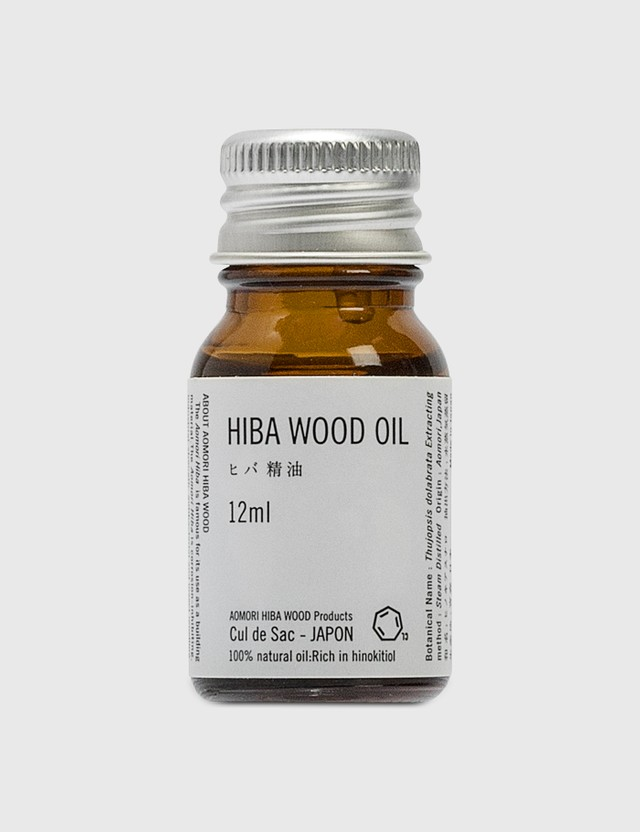 Cul de Sac Japon Hiba Blocks + Hiba Wood Oil