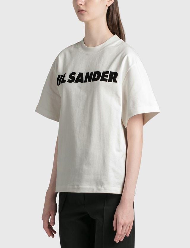 Jil Sander Jil Sander Logo Cotton T-shirt