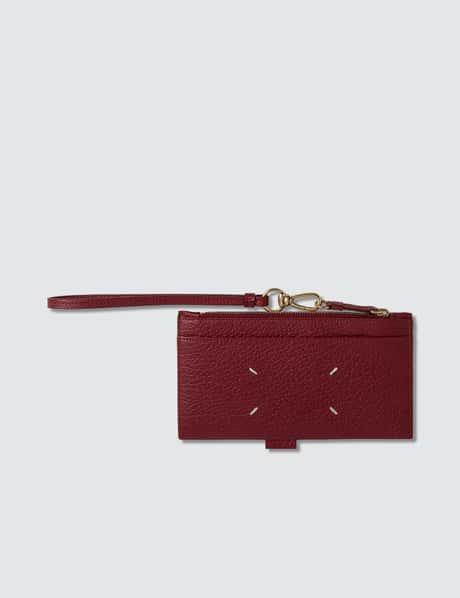 메종 마르지엘라 Maison Margiela Zip Leather Card Holder