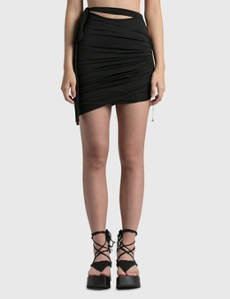 Hyein Seo Lotus Shirring Skirt