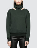 Unravel Project Cot Cashmere Mock Neck Cut Picture