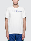 Champion Reverse Weave Fading Logo S/S T-Shirt Picture