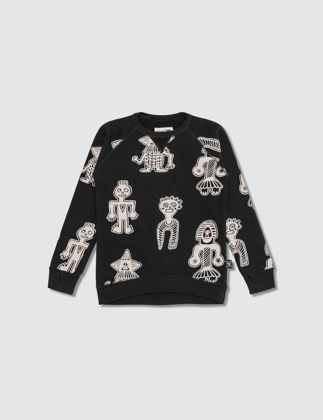 NUNUNU All Over Tribal Dancers Sweatshirt (Infants)