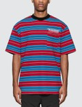 Pleasures Chainsmoke Stripe T-Shirt Picutre