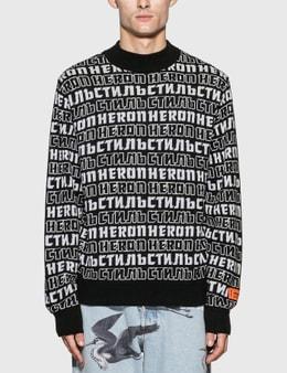 Heron Preston Heron CTNMB Sweater