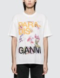 Ganni Davis Short Sleeve T-Shirt Picture