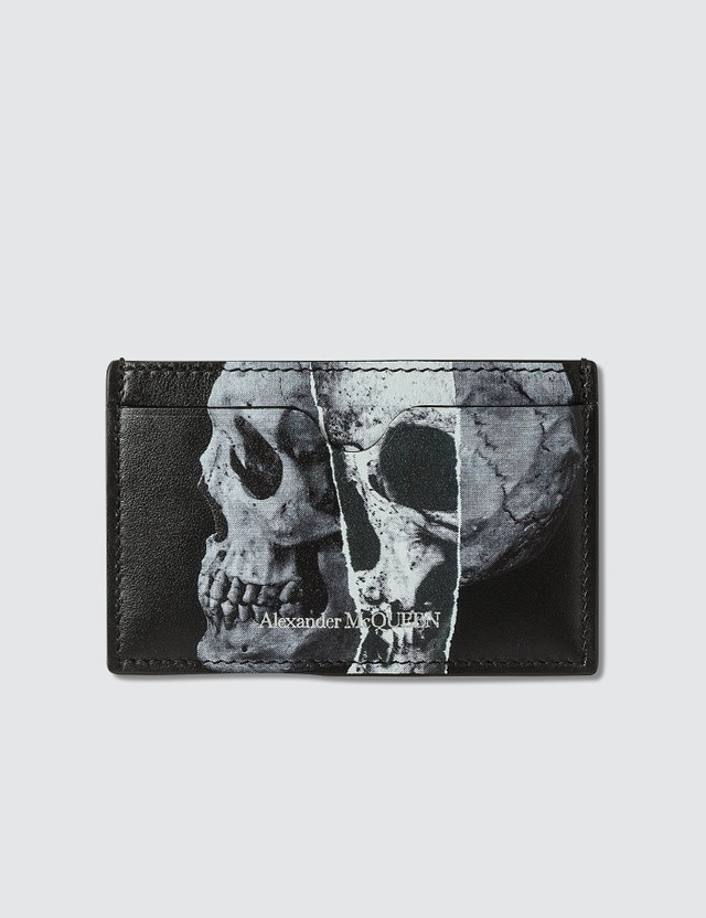 Alexander McQueen Skull Print Card Holder