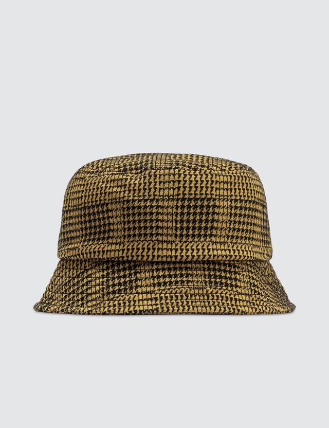 Stussy Lola Plaid Knit Bucket Hat