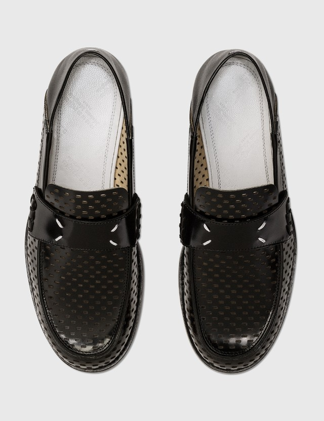 Maison Margiela Stitches Loafers Black Women
