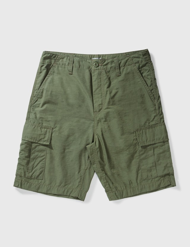 Carhartt Work In Progress Field Cargo Shorts Dollar Green Men