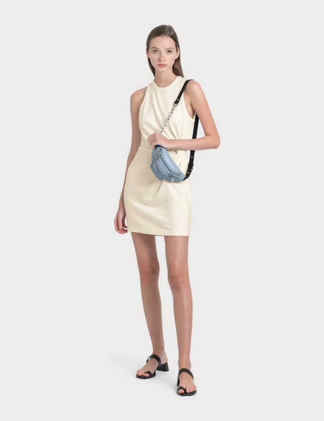 Alexander Wang.T Heavy Soft Jersey Fitted Tank Dress White Women