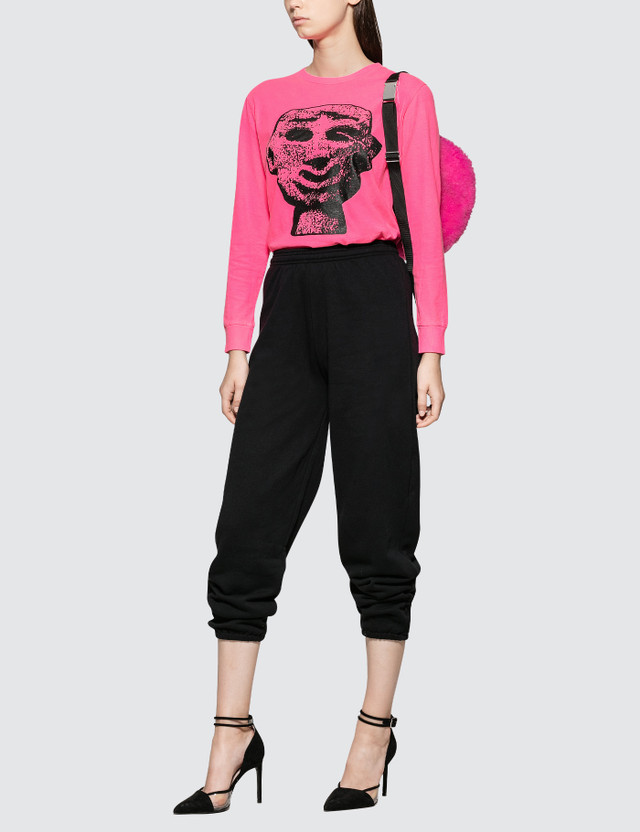 Ashley Williams Stone Head Long Sleeve T-shirt