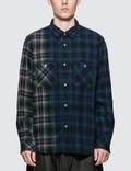 Sacai Check Flannel Shirt Picture