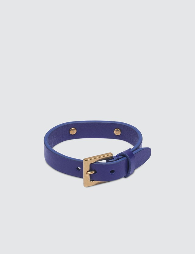 Versace Love Versace Leather Bracelet