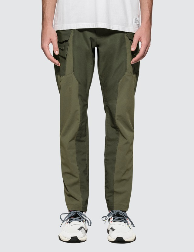 White Mountaineering Conrtasted Cargo Tapedred Pant