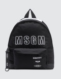 MSGM Msgm X Eastpak Logo Backpack Picture